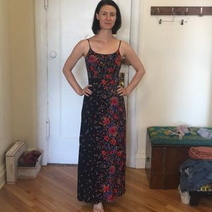 Maxi Dress - Light with flowers